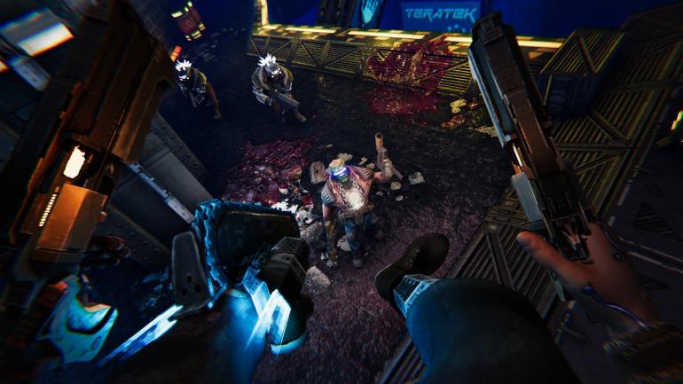 Acción ciberpunk, shooter, sangre y gráficos retro: así es Turbo Overkill, que presenta nuevo gameplay