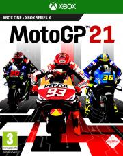 Carátula de MotoGP 21 - Xbox Series