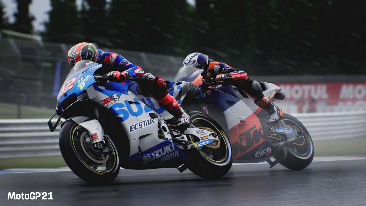 MotoGP 21 promete sacar buen partido al DualSense de PS5, y Milestone concreta resolución en Xbox Series S