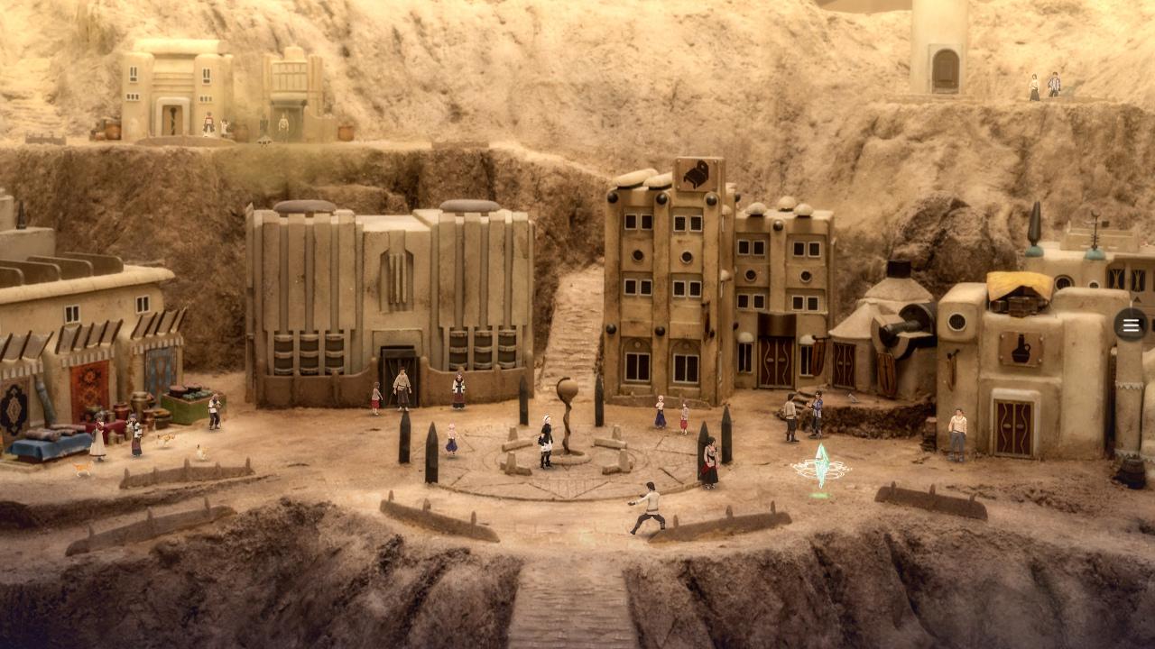 El nuevo JRPG del creador de Final Fantasy luce estilo en su tráiler, con escenarios hechos con dioramas