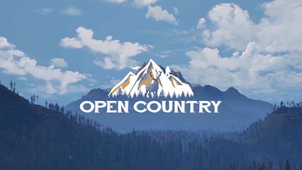 Tráiler de Open Country: caza, supervivencia y un vasto mundo abierto de naturaleza para explorar