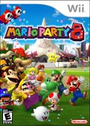 Carátula de Mario Party 8 - Wii