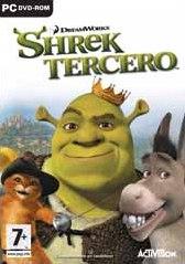 Carátula de Shrek Tercero - PC