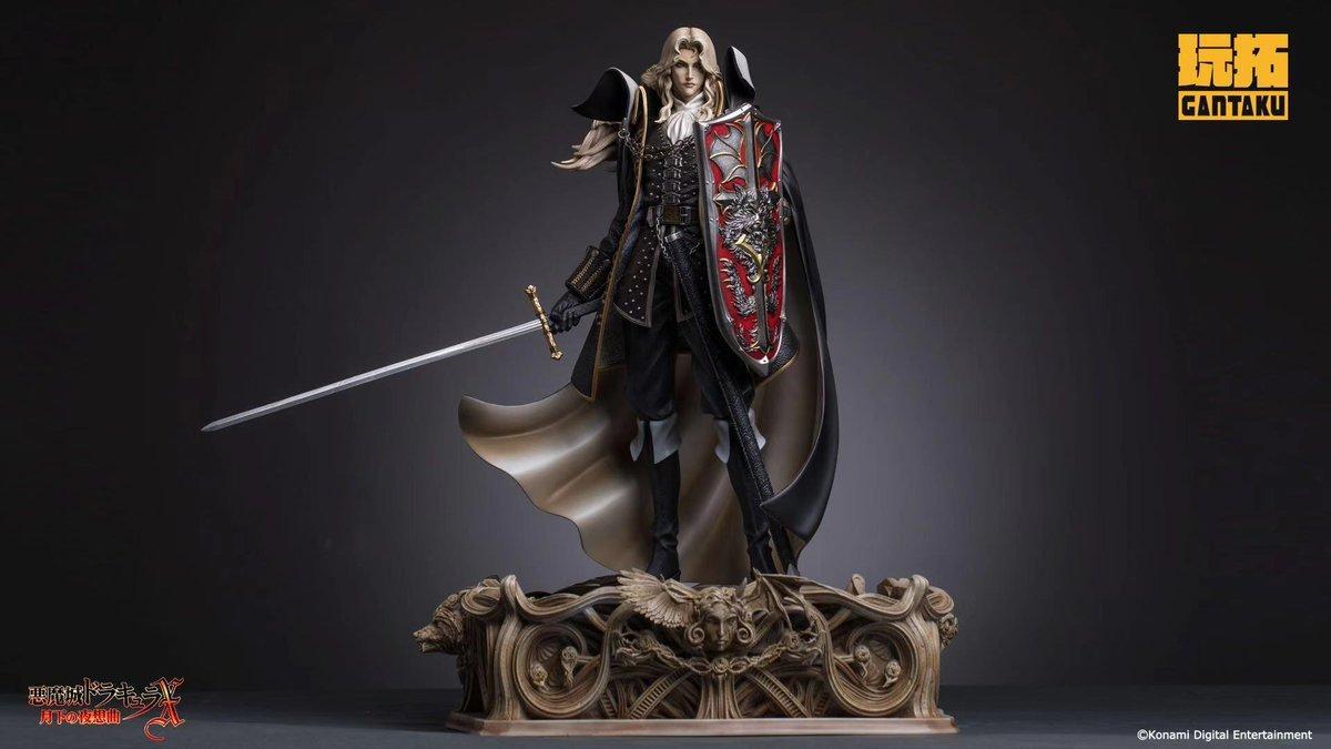Castlevania: Así es la increíble (y exclusiva) figura de Alucard de Gantaku