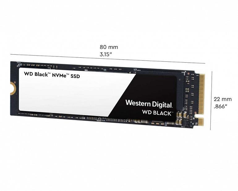 Western Digital destrona a Samsung con su SSD WD Black 3D NVMe