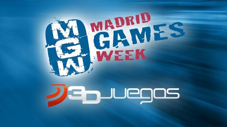 3DJuegos en la Madrid Games Week: Directos, torneos y ¡muchos premios!