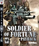 Carátula de Soldier of Fortune: Payback - PS3