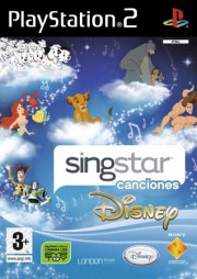 Carátula de Singstar canciones Disney - PS3