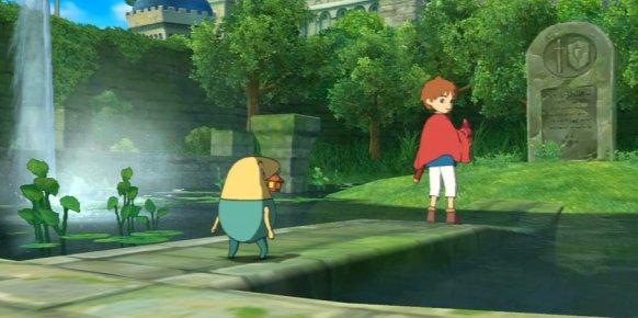 Ni no Kuni, imagen de la versión de PlayStation 3