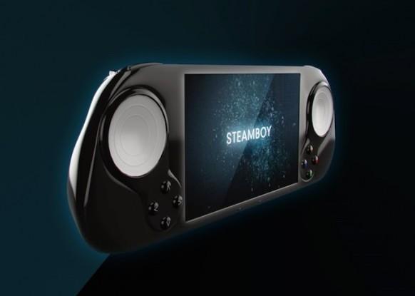 SteamBoy pretende convertirse en la primera portátil viable para juegos de ordenador.