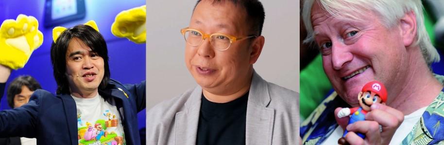 Yoshiaki Koizumi, que ha mostrado su valía con Super Mario 3D World. Takashi Tezuka, todo un veterano presente desde los orígenes de la serie. Charles Martinet, la mismísima voz del fontanero italiano. Hay muchas figuras clave en la franquicia Mario. Sin ellos, no sería posible.