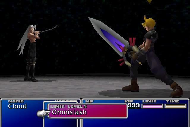 Es difícil olvidar un momento como este. Si tenías Omnilátigo, la animación para acabar con Sefirot era sencillamente majestuosa.