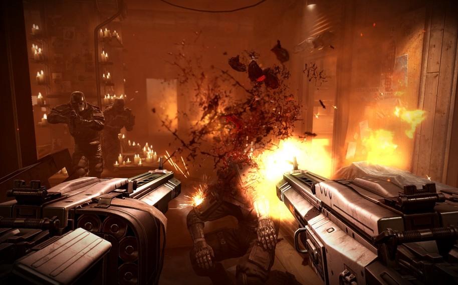 Wolfenstein: The New Order (PC).