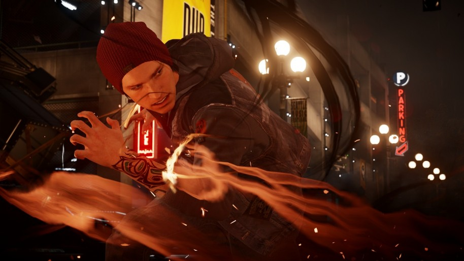 inFamous: Second Son (PS4).
