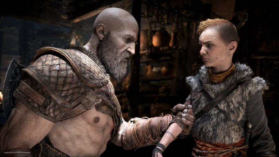 Pese a que Kratos intenta enseñar a Atreus a valerse por sí mismo durante toda la aventura, guarda celosamente el secreto que le impide avanzar.