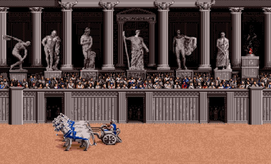 En Roma, y en nuestras provincias, tenemos que llevar a cabo también juegos para entretener al pueblo. Ya sabes: ¡Pan y circo!