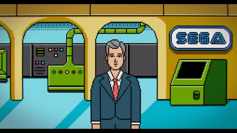 Las animaciones propias de High Score ayudan a explicar la historia del videojuego de una forma sencilla, visual y divertida.
