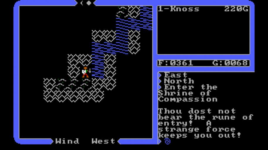 Por si no era suficiente dar con la casilla del santuario escondido, si no tienes la runa pertinente no hay nada que hacer.
