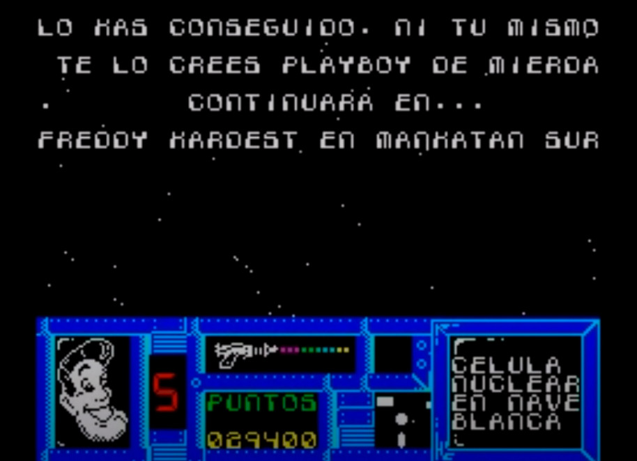 Alcohólico y Playboy. La historia tras Freddy Hardest, el gran héroe de los videojuegos españoles
