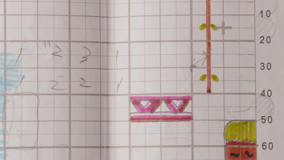Los niveles se diseñaron sobre papel, ¡vaya tiempos!
