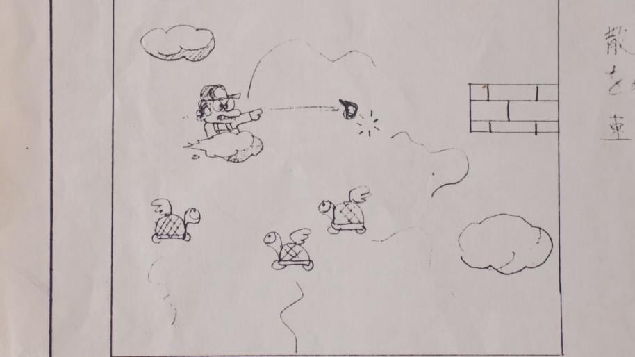 Las ideas locas no faltaron, como poner a Mario sobre una nube.