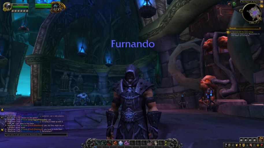 ¿Pueden sorprendernos los gráficos de World of Warcraft? Con el sombreado raytracing, se consiguen muy buenos resultados.