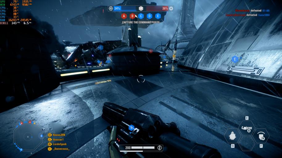 Star Wars Battlefront II, 1080p Ultra.