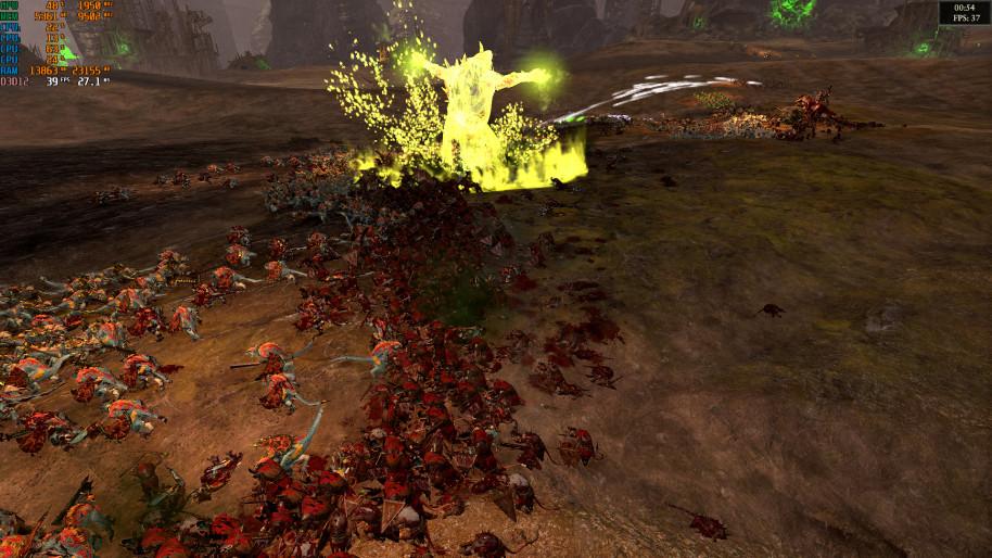 Total War Warhammer 2, 1080p Ultra (sombras en medio).