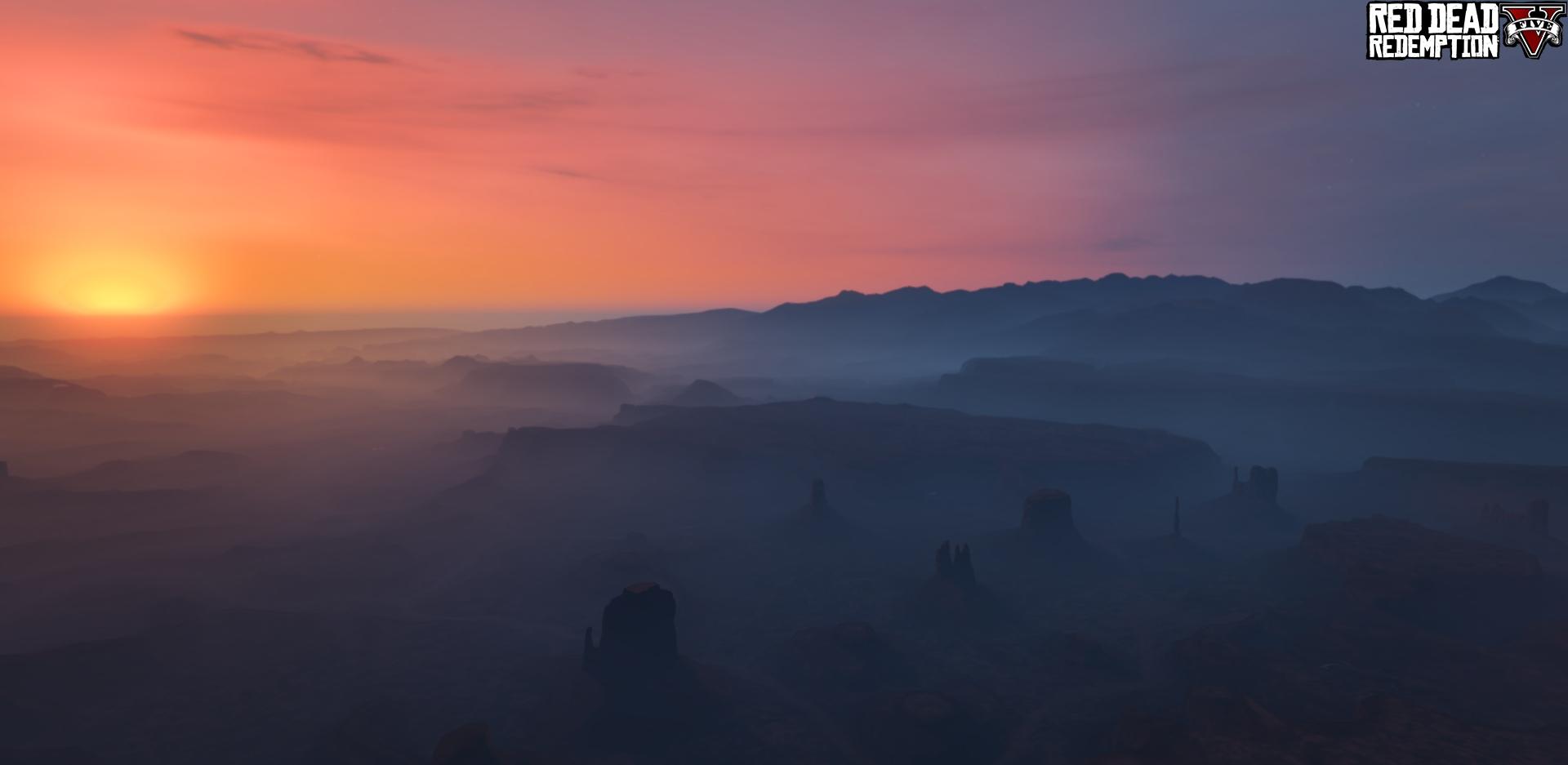 En marcha el traslado del mapa de Red Dead Redemption a GTA 5