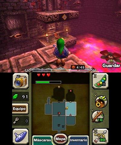 Zelda Majora's Mask 3D análisis