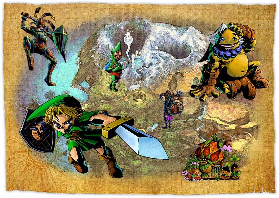 Zelda Majora's Mask 3D 3DS