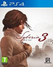 Carátula de Syberia 3 - PS4