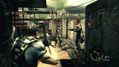 Resident Evil 5 Versus Xbox 360