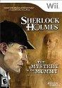 Sherlock Holmes: Mystery of the Mummy Wii