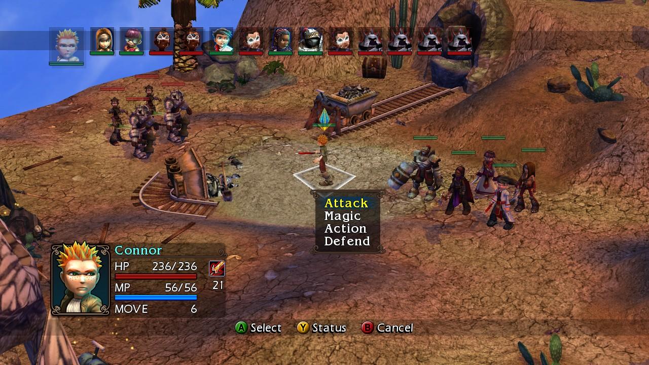 Análisis de Vandal Hearts Flames of Judgment para Xbox 360 - 3DJuegos