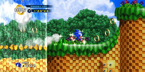 Sonic 4 Episode 1 análisis
