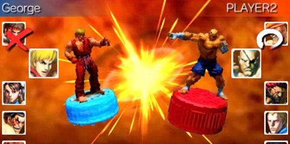 Super Street Fighter IV 3D 3DS