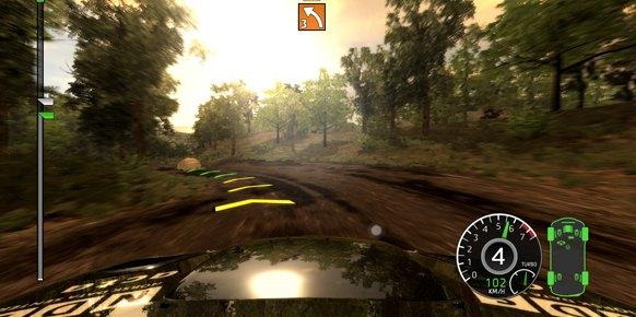 WRC Xbox 360