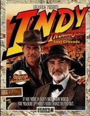 Carátula de Indiana Jones and the Last Crusade - Amiga