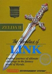 Carátula de Zelda II: The Adventure of Link - NES
