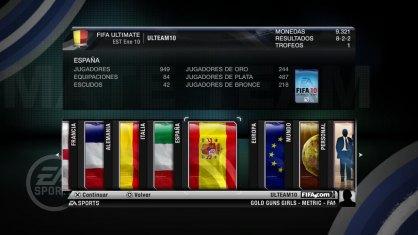 FIFA 10 Ultimate Team análisis