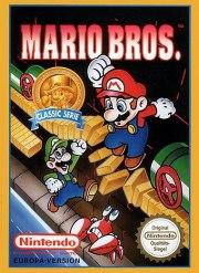 Carátula de Mario Bros. - NES
