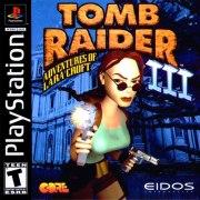 Carátula de Tomb Raider 3 - PS1
