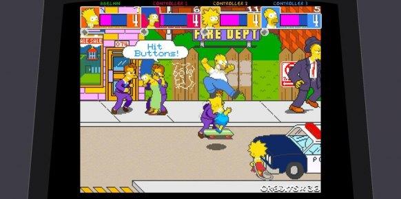 Los Simpsons Arcade análisis