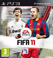 Carátula de FIFA 11 - PS3