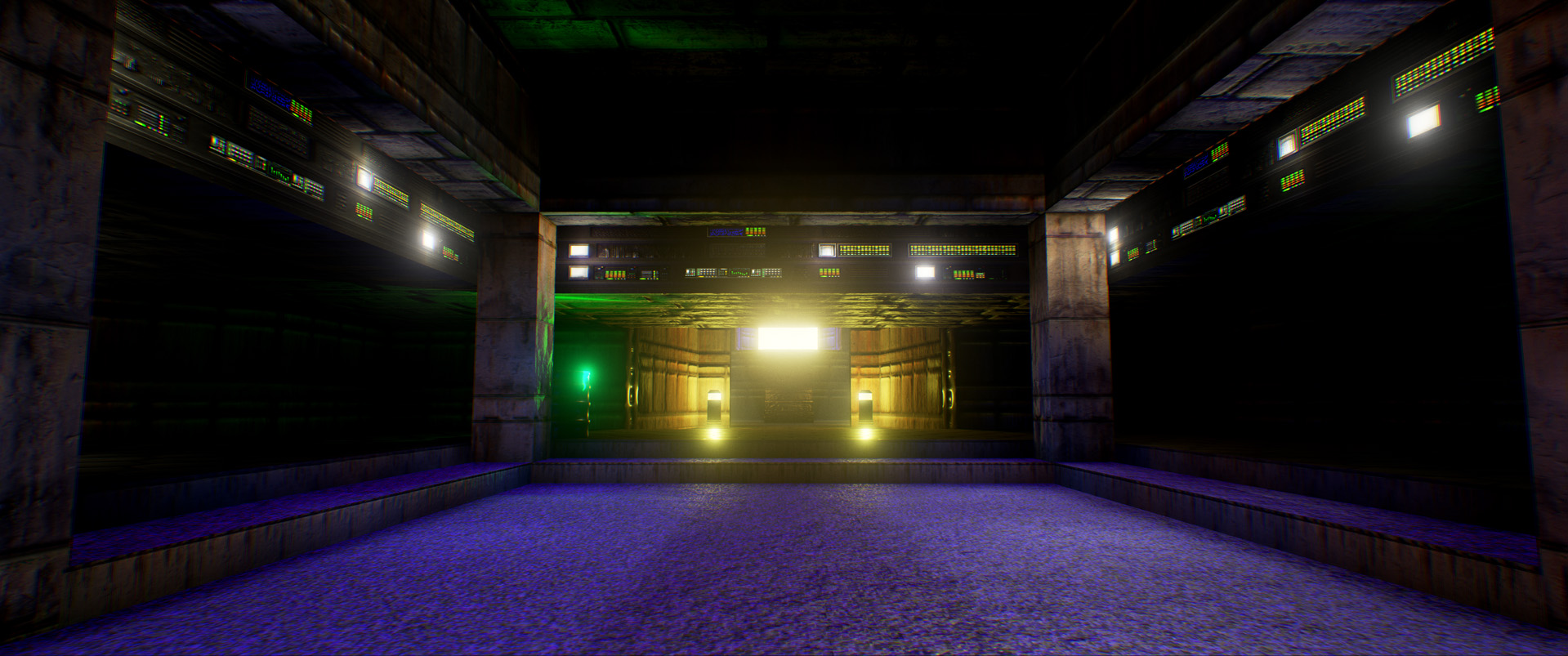 Recrean el primer nivel del clásico Doom usando el Unreal Engine 4