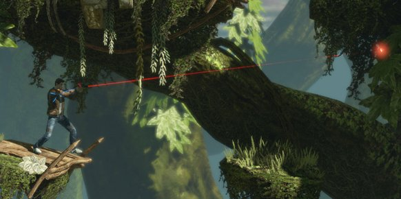 Imagen filtrada por el medio francés Gameblog sobre la remasterización de Flashback en HD.