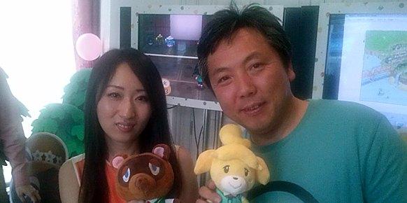Animal Crossing New Leaf: Animal Crossing New Leaf: Entrevista: Aya Kiogoku y Katsuya Eguchi