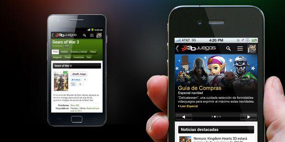 3DJuegos: Estrenamos versión móvil, una versión con el 100% de nuestros contenidos.
