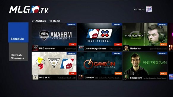 La Major League Gaming recala con su propia App en Xbox, de momento para EEUU